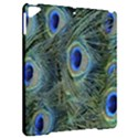 Peacock Feathers Blue Bird Nature Apple iPad Pro 9.7   Hardshell Case View2