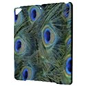 Peacock Feathers Blue Bird Nature Apple iPad Pro 9.7   Hardshell Case View3