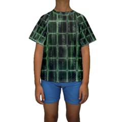 Matrix Earth Global International Kids  Short Sleeve Swimwear
