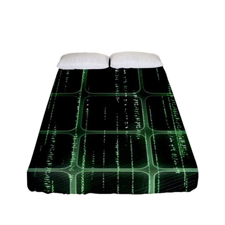 Matrix Earth Global International Fitted Sheet (Full/ Double Size)