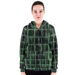 Matrix Earth Global International Women s Zipper Hoodie