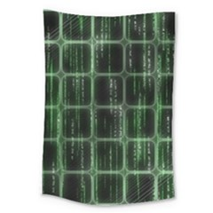 Matrix Earth Global International Large Tapestry