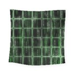 Matrix Earth Global International Square Tapestry (Small)
