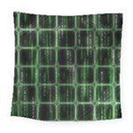 Matrix Earth Global International Square Tapestry (Large)