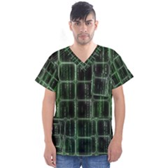 Matrix Earth Global International Men s V Neck Scrub Top