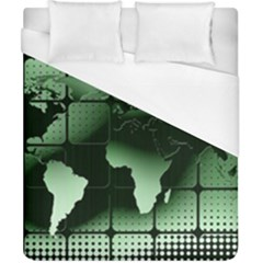 Matrix Earth Global International Duvet Cover (california King Size)