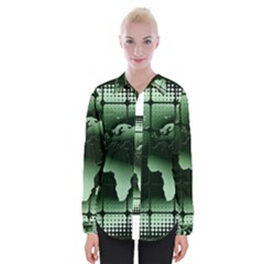 Matrix Earth Global International Womens Long Sleeve Shirt