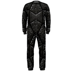 Tile Emboss Luxury Artwork Depth Onepiece Jumpsuit (men)