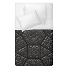 Tile Emboss Luxury Artwork Depth Duvet Cover (single Size)