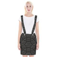 Tile Emboss Luxury Artwork Depth Braces Suspender Skirt by Nexatart