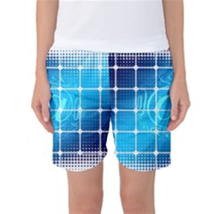 Tile Square Mail Email E Mail At Women s Basketball Shorts