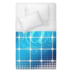 Tile Square Mail Email E Mail At Duvet Cover (single Size)