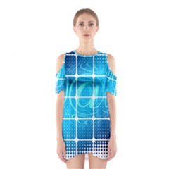 Tile Square Mail Email E Mail At Shoulder Cutout One Piece