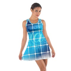 Tile Square Mail Email E Mail At Cotton Racerback Dress