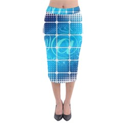 Tile Square Mail Email E Mail At Midi Pencil Skirt