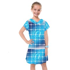 Tile Square Mail Email E Mail At Kids  Drop Waist Dress