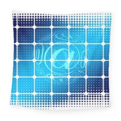 Tile Square Mail Email E Mail At Square Tapestry (large)