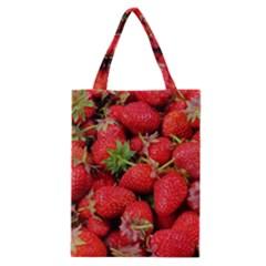 Strawberries Berries Fruit Classic Tote Bag