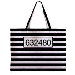 Prison  Zipper Mini Tote Bag by Valentinaart