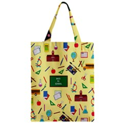 Back To School Zipper Classic Tote Bag