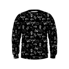 Skeleton Pattern Kids  Sweatshirt