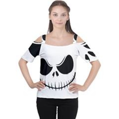 Halloween Cutout Shoulder Tee by Valentinaart