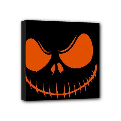 Halloween Mini Canvas 4  X 4  by Valentinaart