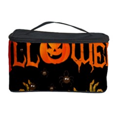 Halloween Cosmetic Storage Case by Valentinaart