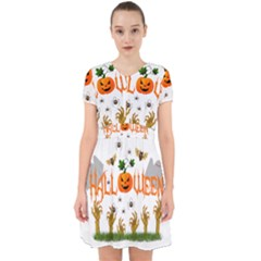Halloween Adorable In Chiffon Dress