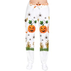 Halloween Drawstring Pants by Valentinaart