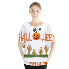 Halloween Blouse by Valentinaart