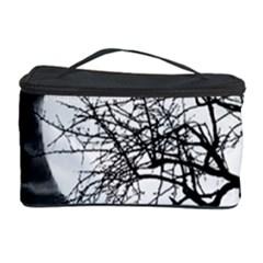 Halloween Landscape Cosmetic Storage Case by Valentinaart