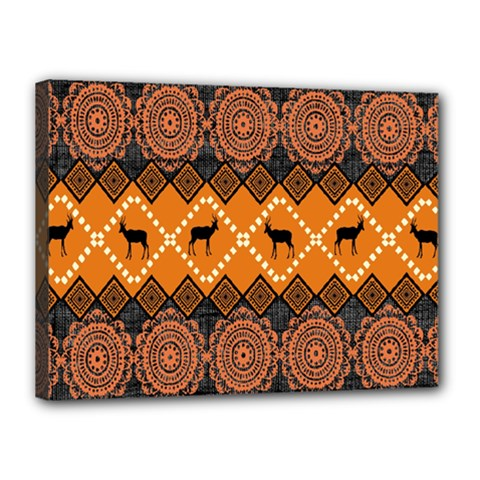 Traditiona  Patterns And African Patterns Canvas 16  X 12  by Onesevenart