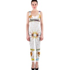 Zodiac  Institute Of Vedic Astrology Onepiece Catsuit by Onesevenart