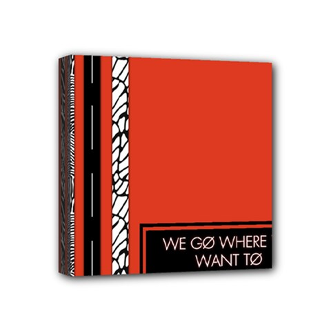 Poster Twenty One Pilots We Go Where We Want To Mini Canvas 4  X 4  by Onesevenart