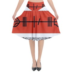 Poster Twenty One Pilots Flared Midi Skirt