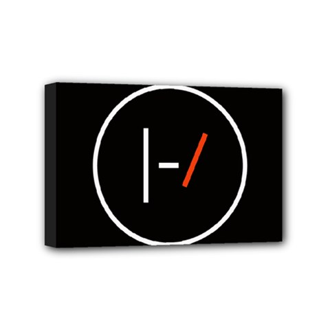 Twenty One Pilots Band Logo Mini Canvas 6  X 4  by Onesevenart
