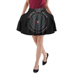 Twenty One Pilots Power To The Local Dreamder A Line Pocket Skirt