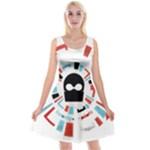 Twenty One Pilots Reversible Velvet Sleeveless Dress