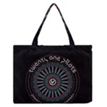 Twenty One Pilots Zipper Medium Tote Bag