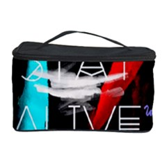 Twenty One Pilots Stay Alive Song Lyrics Quotes Cosmetic Storage Case by Onesevenart