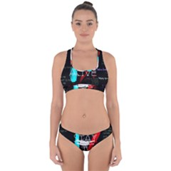 Twenty One Pilots Stay Alive Song Lyrics Quotes Cross Back Hipster Bikini Set