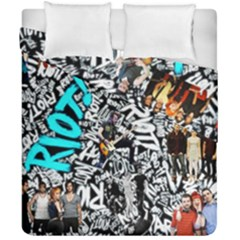 Panic! At The Disco College Duvet Cover Double Side (california King Size) by Onesevenart