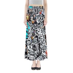 Panic! At The Disco College Full Length Maxi Skirt by Onesevenart