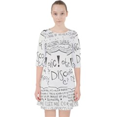 Panic! At The Disco Lyrics Pocket Dress