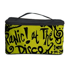 Panic! At The Disco Lyric Quotes Cosmetic Storage Case by Onesevenart
