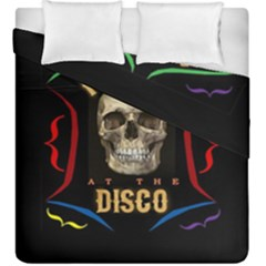 Panic At The Disco Poster Duvet Cover Double Side (king Size) by Onesevenart