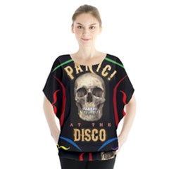 Panic At The Disco Poster Blouse by Onesevenart