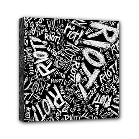Panic At The Disco Lyric Quotes Retina Ready Mini Canvas 6  X 6  by Onesevenart