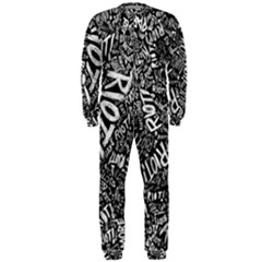 Panic At The Disco Lyric Quotes Retina Ready Onepiece Jumpsuit (men)  by Onesevenart